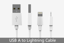 USB A to Lightning Cable