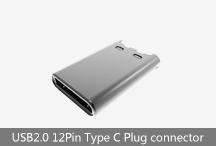 USB2.0 12Pin Type C Plug connector