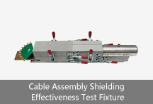 Cable Assembly Shieldin Effectiveness Test Fixture